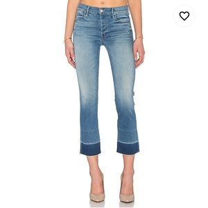 MOTHER Jeans - MOTHER Undone Hem Tootsie Jeans in Rumor Has It